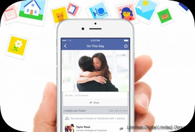 FACEBOOK ADDS NEW MEMORIES REMINDERS TO PROMPT MORE SHARING​