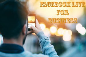 Facebook live for business | Social Media Specialists Doncaster