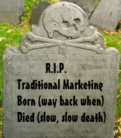 IS TRADITIONAL MARKETING DEAD? | Limitless Digital - Web Design Doncaster